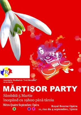 Connexions Moldavie - Toti Romani <strong>Martisor Party</strong>